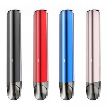 Hot Sell Rechargeable Oil Filling Colorful LED Light Tobacco Cigarette Vape