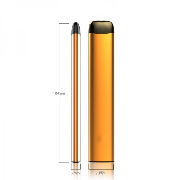 Quizz Disposable Vapes Nicotine Free E Cigarettes 1500 Puffs Coil and Oil Seperate Design Tfn Qds05 #1 image